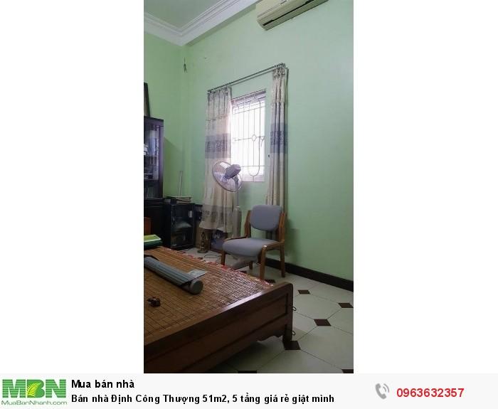 Bán nhà Định Công Thượng 51m2, 5 tầng giá rẻ giật mình
