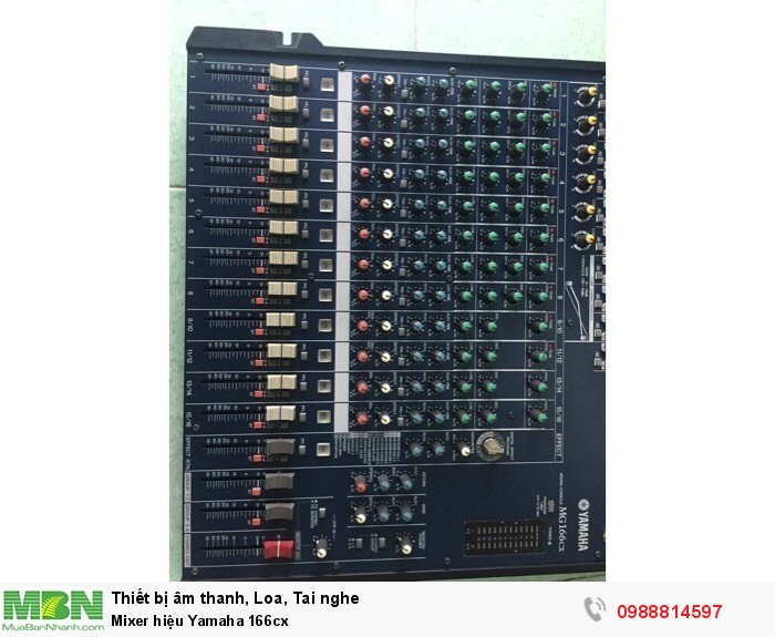 Mixer hiệu Yamaha 166cx