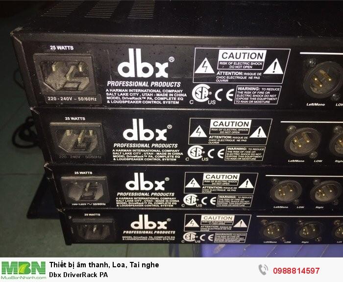 Dbx DriverRack PA