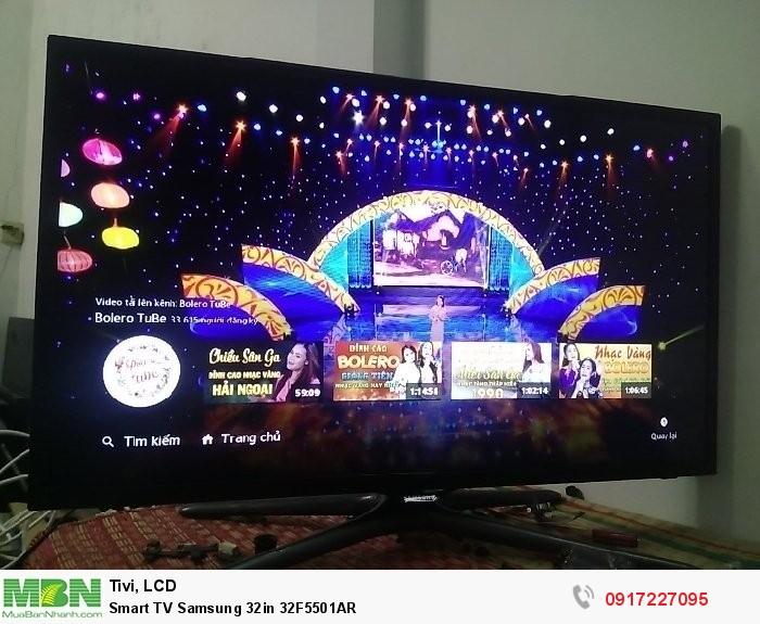 Smart TV Samsung 32in 32F5501AR1
