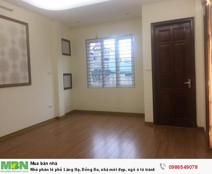 Nhà phân lô phố Láng Hạ, Đống Đa, nhà mới đẹp, ngõ ô tô tránh