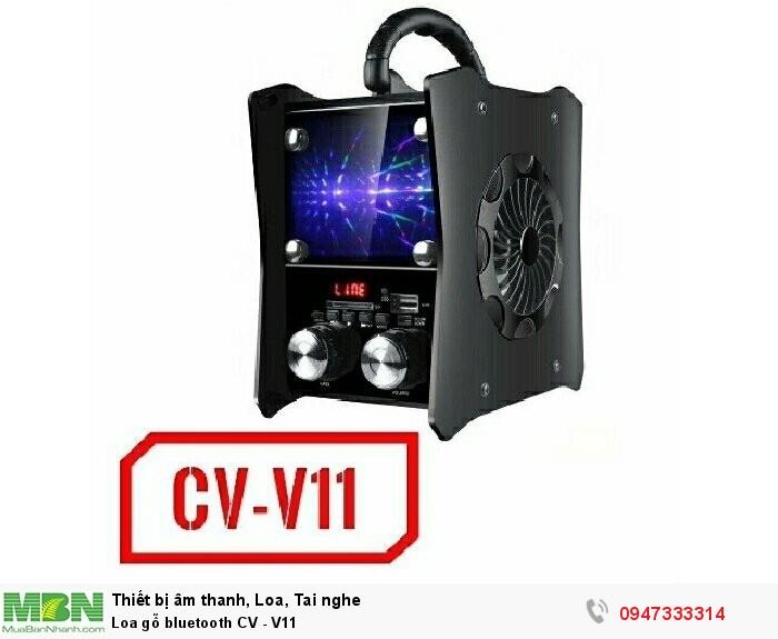 Loa gỗ bluetooth CV - V11