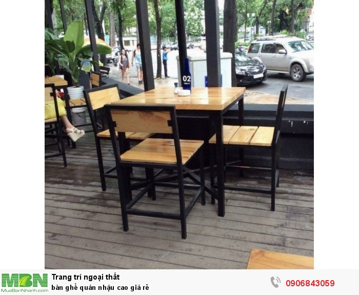 bàn ghế quán nhậu cao giá rẻ1