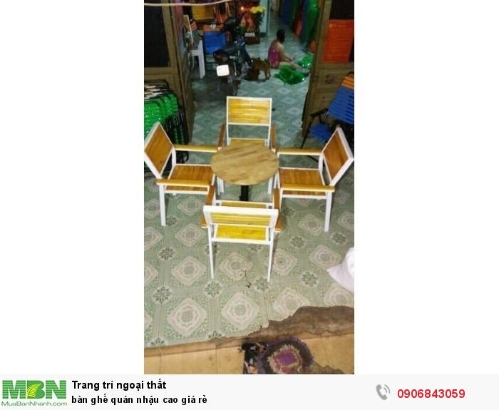 bàn ghế quán nhậu cao giá rẻ4