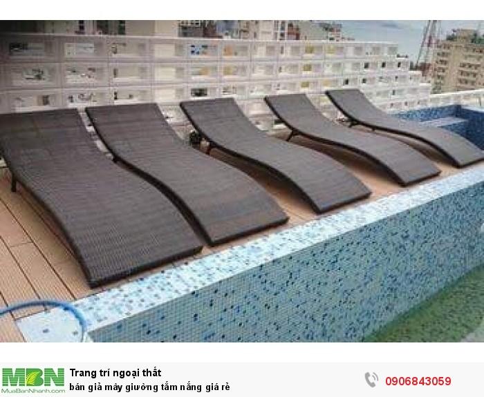 bán giả mây giường tắm nắng giá rẻ0