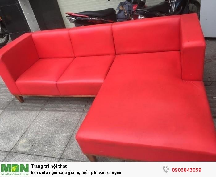 bán sofa nệm cafe giá rẻ,miễn phí vận chuyển1