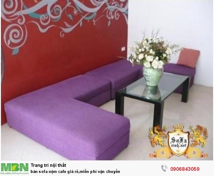 bán sofa nệm cafe giá rẻ,miễn phí vận chuyển2