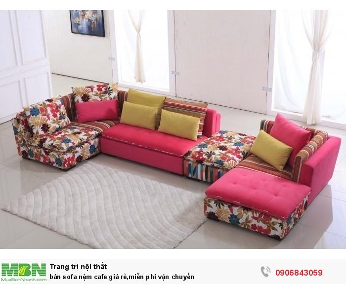 bán sofa nệm cafe giá rẻ,miễn phí vận chuyển3