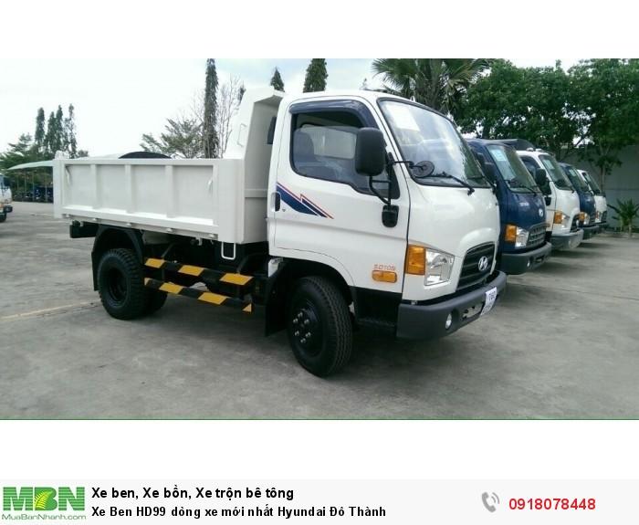 Xe Ben HD99 dòng xe mới nhất Hyundai Đô Thành