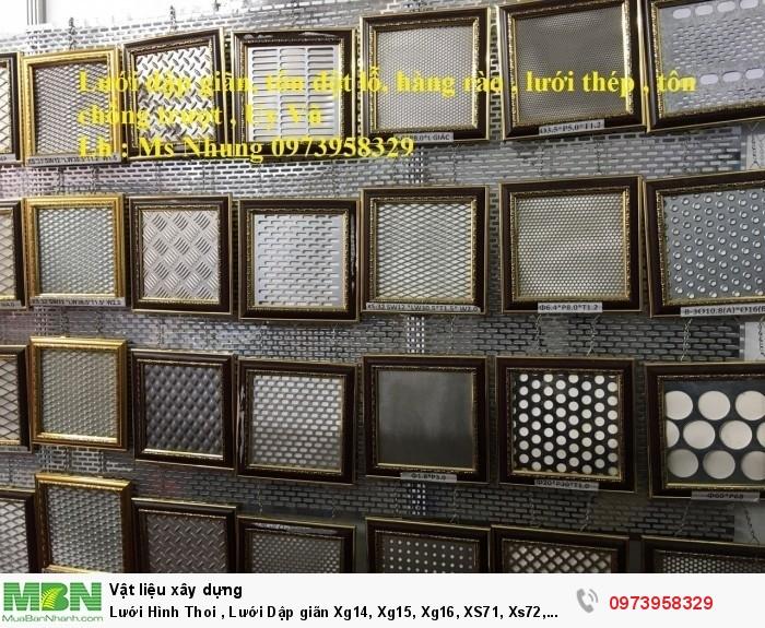 Lưới Hình Thoi , Lưới Dập giãn Xg14, Xg15, Xg16, XS71, Xs72, Xs73, XS61, xs62 .....1