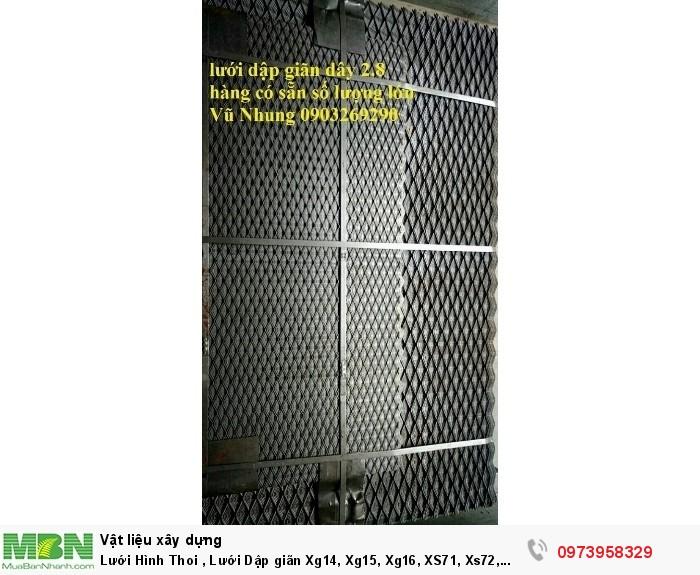 Lưới Hình Thoi , Lưới Dập giãn Xg14, Xg15, Xg16, XS71, Xs72, Xs73, XS61, xs62 .....7