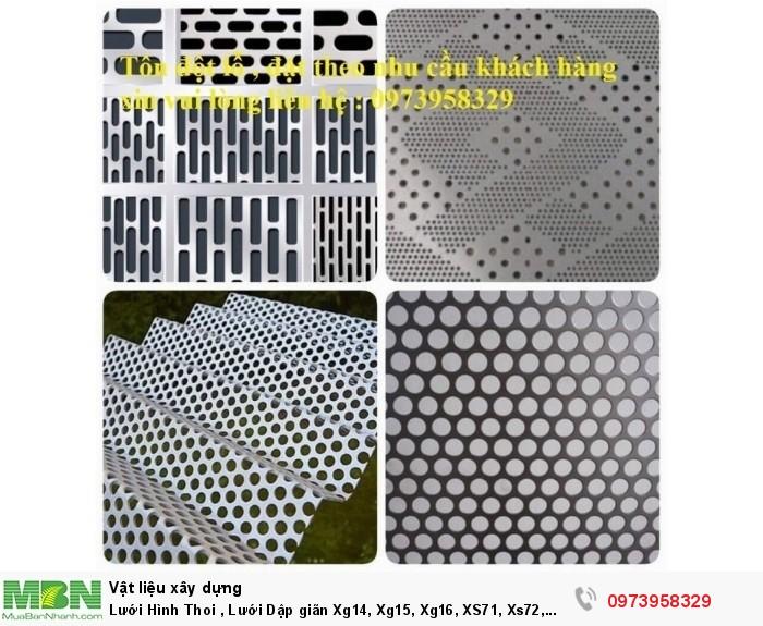 Lưới Hình Thoi , Lưới Dập giãn Xg14, Xg15, Xg16, XS71, Xs72, Xs73, XS61, xs62 .....8