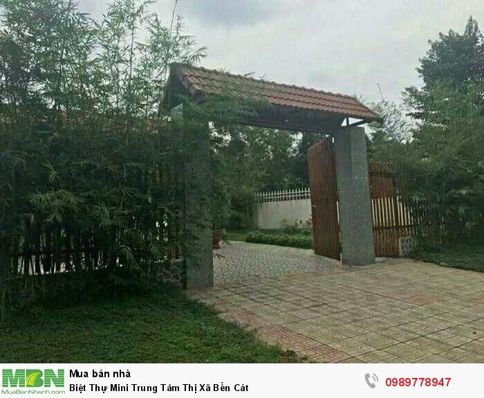 Biệt Thự Mini Trung Tâm Thị Xã Bến Cát