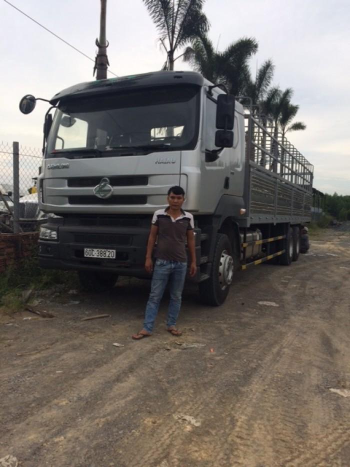 Xe tải thùng 3 chân Chenglong, đời 2017