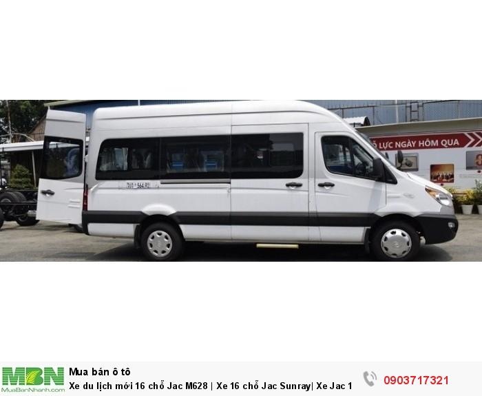 Xe du lịch mới 16 chỗ Jac M628 | Xe 16 chỗ Jac Sunray| Xe Jac 16 chỗ Sunray M628 nhập khẩu