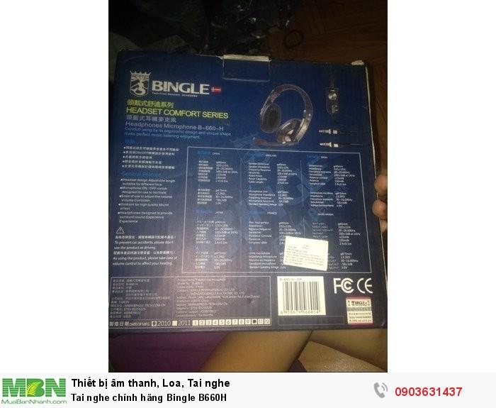 Tai nghe chính hãng Bingle B660H