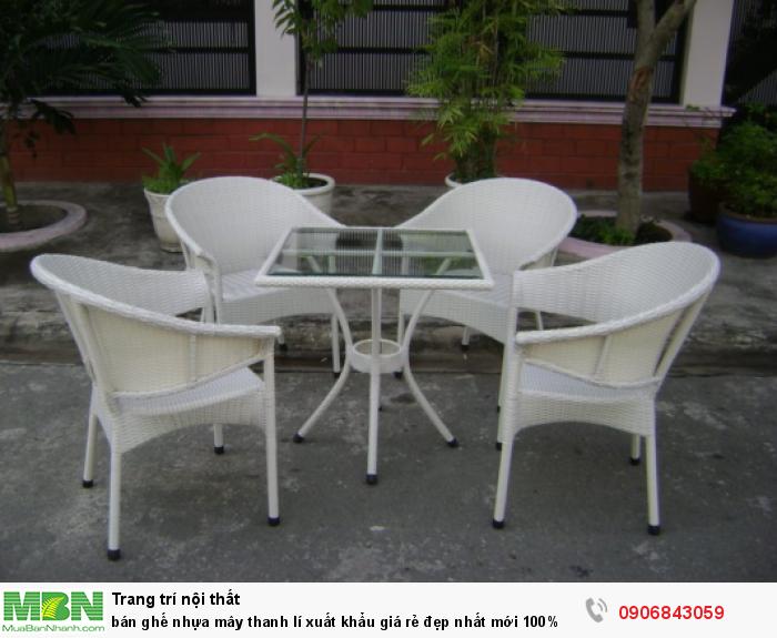 bán ghế nhựa mây thanh lí xuất khẩu giá rẻ đẹp4