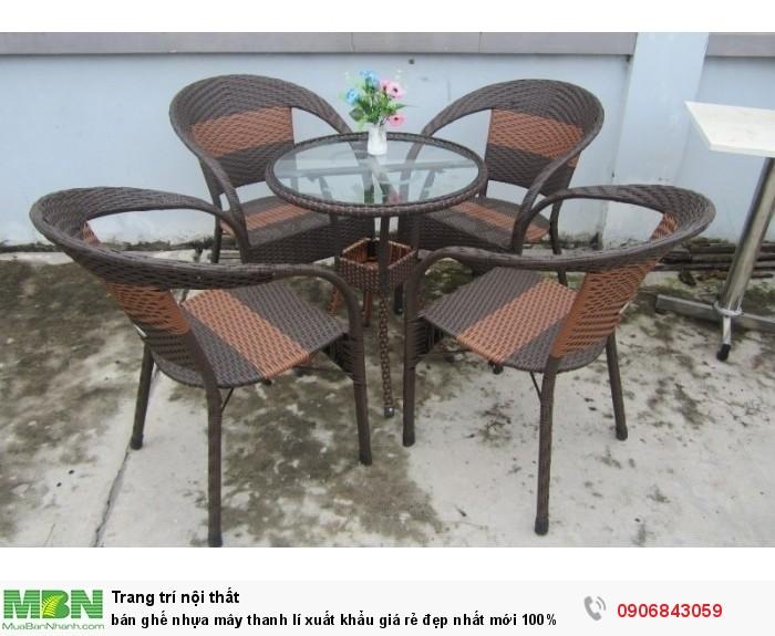 bán ghế nhựa mây thanh lí xuất khẩu giá rẻ đẹp6
