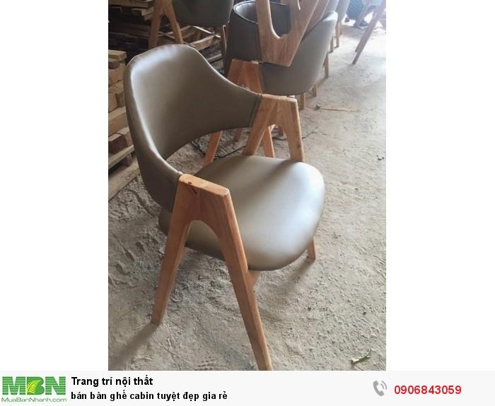 bán bàn ghế cabin tuyệt đẹp gia rẻ2