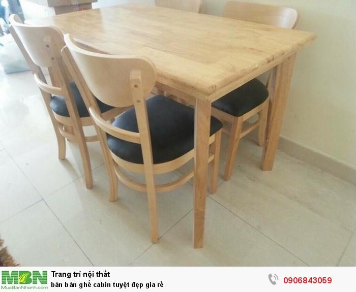bán bàn ghế cabin tuyệt đẹp gia rẻ5