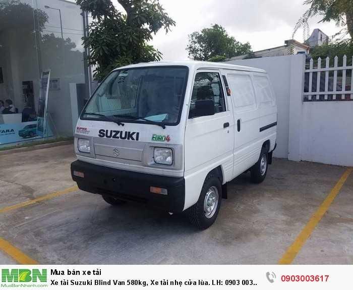 Xe tải Suzuki Blind Van 580kg, Xe tải nhẹ cửa lùa. LH: 0903 003 617