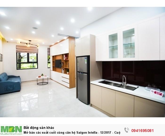 Mở bán các suất cuối cùng căn hộ Saigon Intella - 12/2017 - Cuộc chiến giới đầu tư !!!