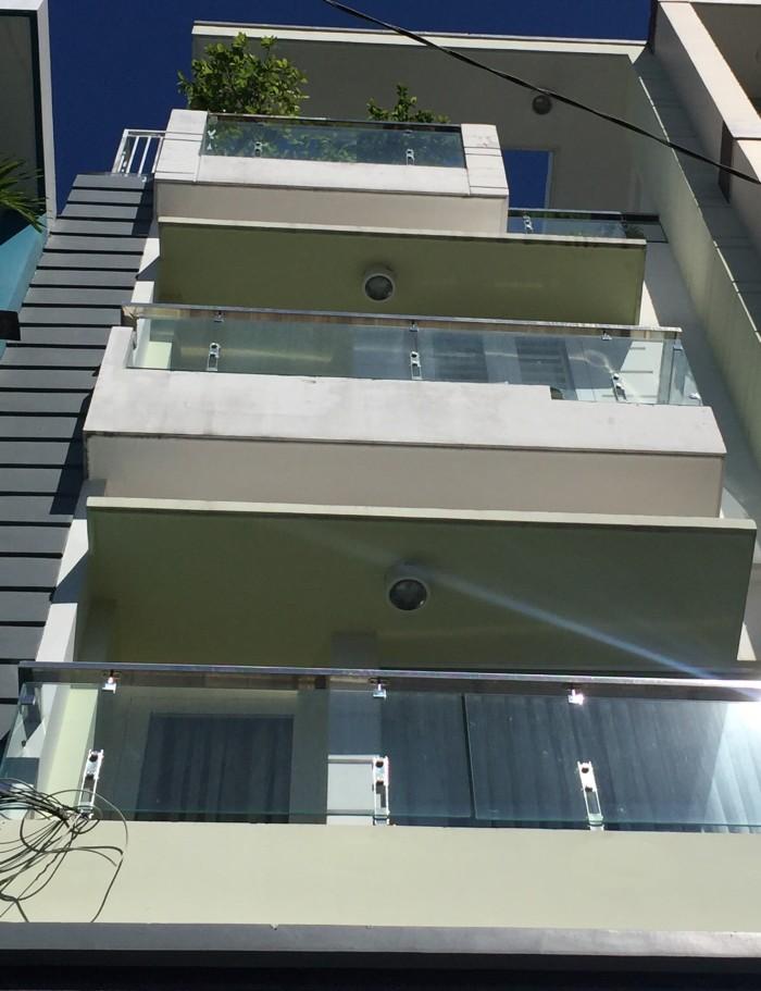 Nhà Lê Quang Định, Bình Thạnh,  50m, 4 tầng.