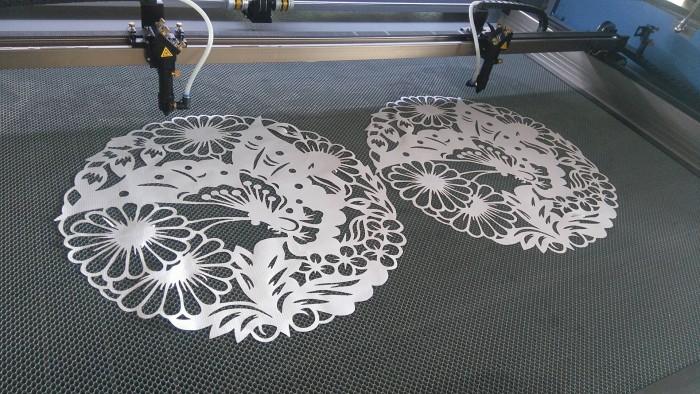Máy Laser chuyên cắt chữ quảng cáo và thiết kế nội thất 13901