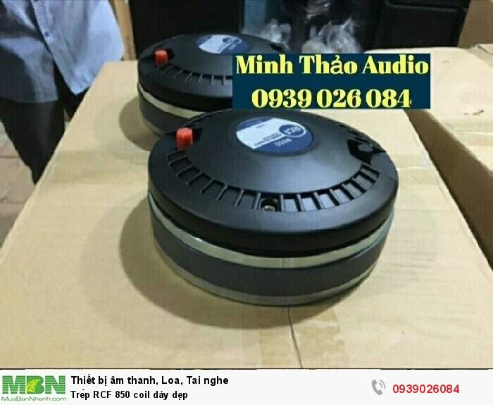 Trép RCF 850 coil dây dẹp