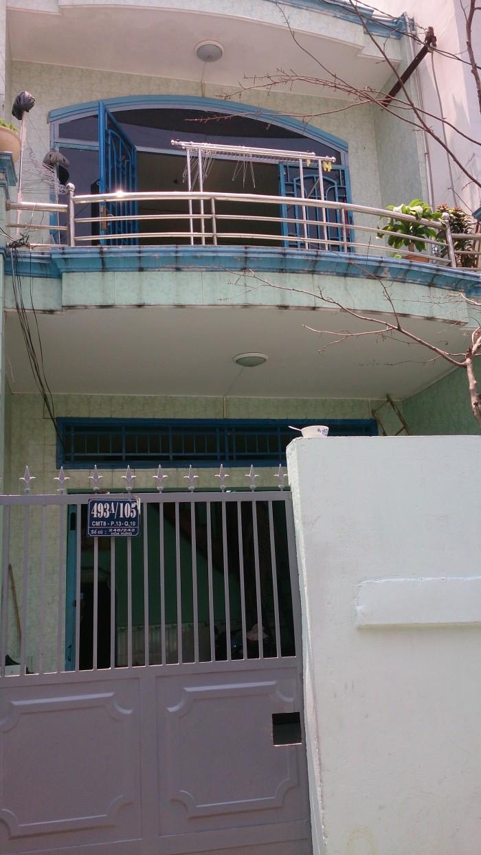 Bán Nhà MT Nguyễn Chí Thanh, DT: 4x13m, 2 Lầu, Q.5