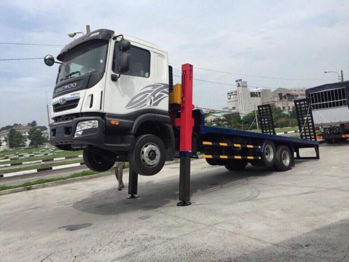 Xe tải Daewoo chân rút 15 tấn đóng thùng các loại