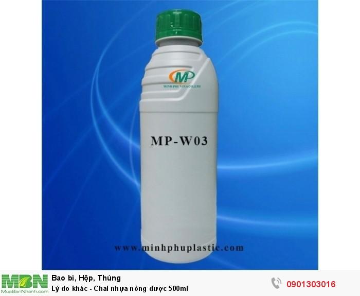 Chai nhựa nông dược 1L