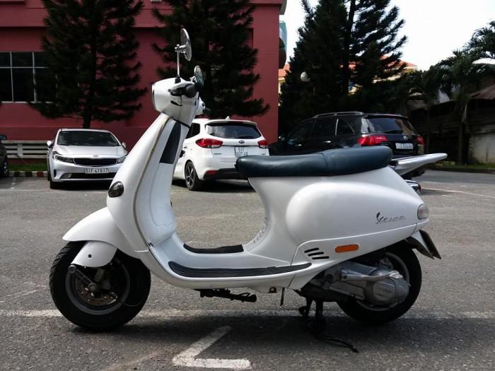 Piaggio Vespa ET8 150 Trắng  Xe Tay Ga Cao Cấp Của Ý Tuyệt Đẹp