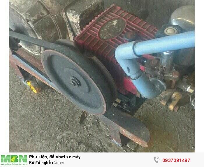 Bộ đồ nghề rửa xe