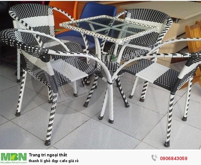 thanh lí ghế đẹp cafe giá rẻ