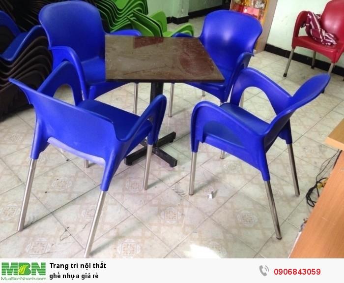 ghế nhựa giá rẻ2