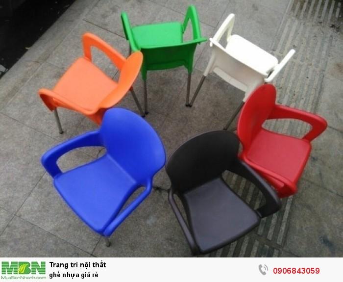 ghế nhựa giá rẻ3