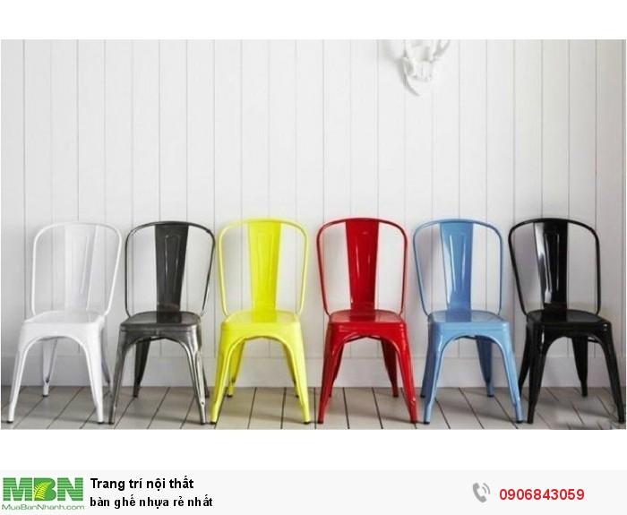 Bàn ghế nhựa rẻ nhất2