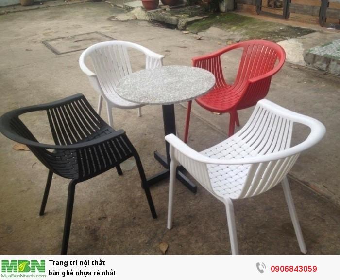 Bàn ghế nhựa rẻ nhất6