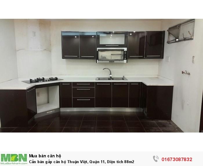 Cần bán gấp căn hộ Thuận Việt, Quận 11, Diện tích 88m2