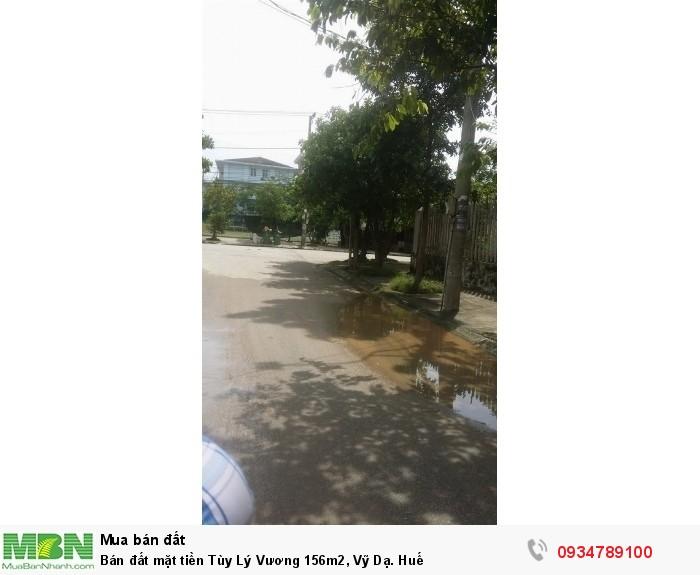 Bán đất mặt tiền Tùy Lý Vương 156m2, Vỹ Dạ. Huế
