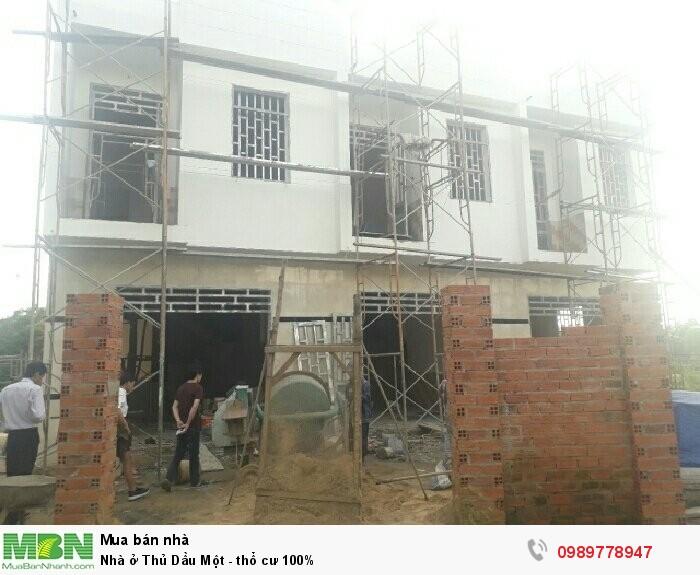 Nhà ở Thủ Dầu Một - thổ cư 100%