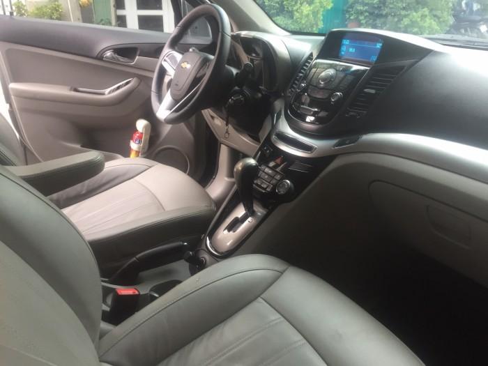 Tôi bán xe Chevrolet Orlando 2014 Ltz tự động màu xám xanh đá xe đẹp . 4