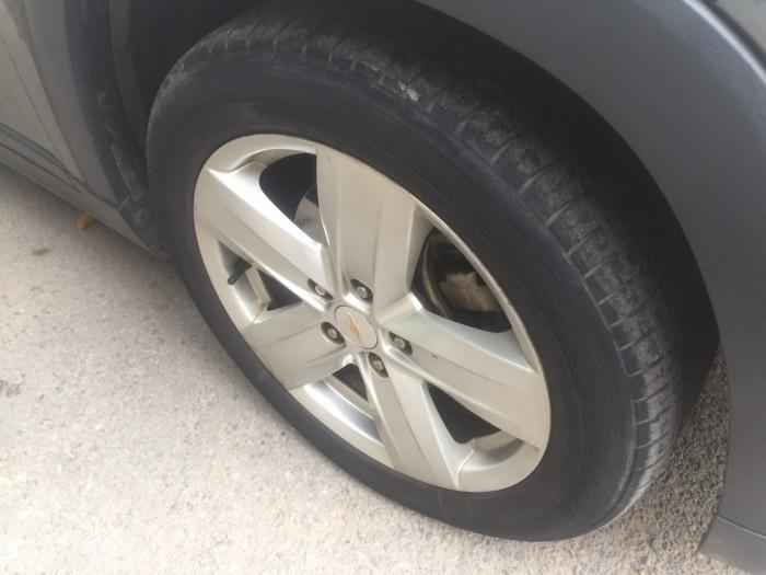 Tôi bán xe Chevrolet Orlando 2014 Ltz tự động màu xám xanh đá xe đẹp . 9