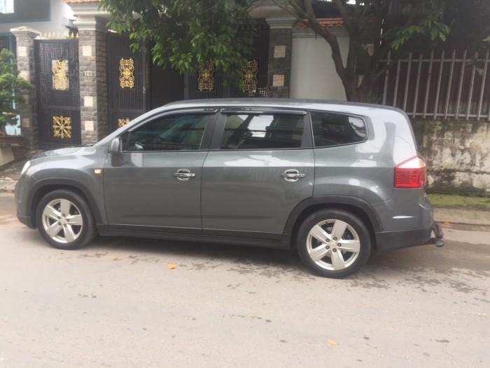 Tôi bán xe Chevrolet Orlando 2014 Ltz tự động màu xám xanh đá xe đẹp . 8