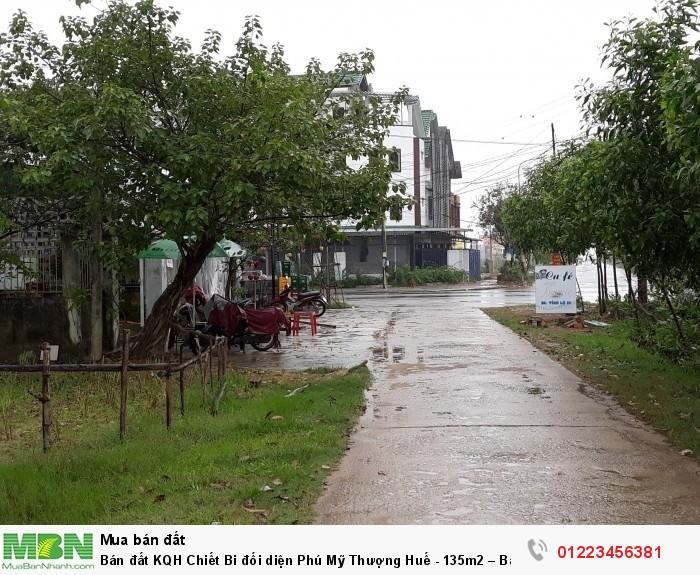 Bán đất KQH Chiết Bi đối diện Phú Mỹ Thượng Huế - 135m2 – Bao sổ