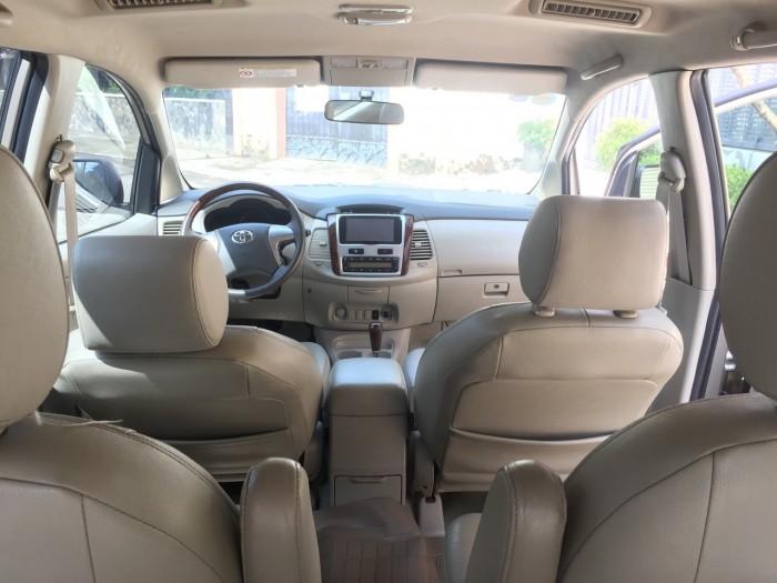 bán xe Toyota Innova 2015 số sàn màu vàng cát zin toàn bộ 8