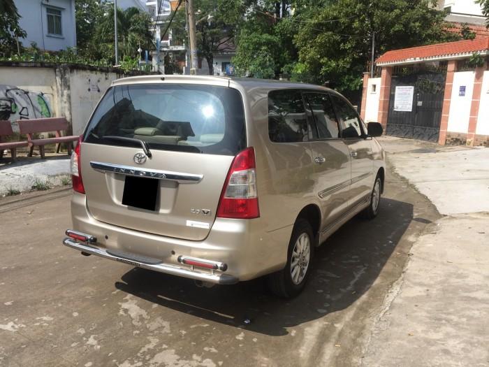 bán xe Toyota Innova 2015 số sàn màu vàng cát zin toàn bộ 2