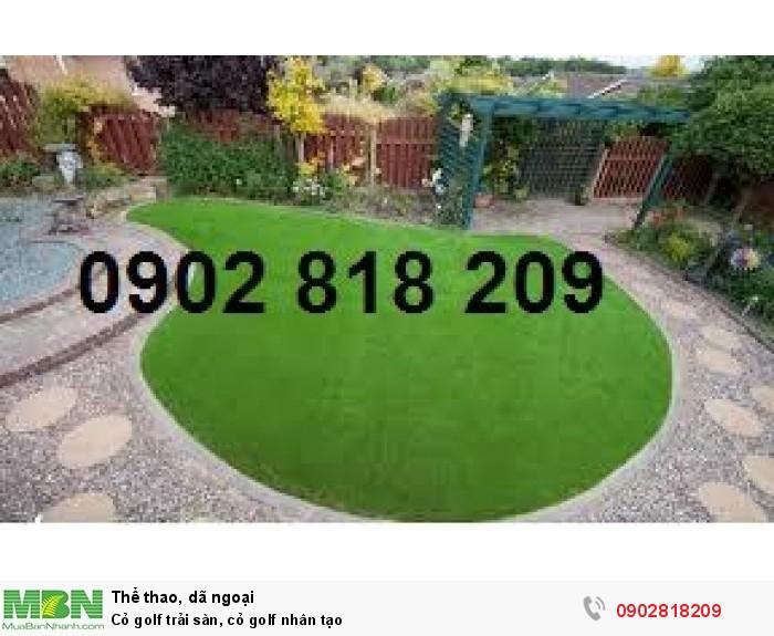 Cỏ golf trải sàn, cỏ golf nhân tạo5