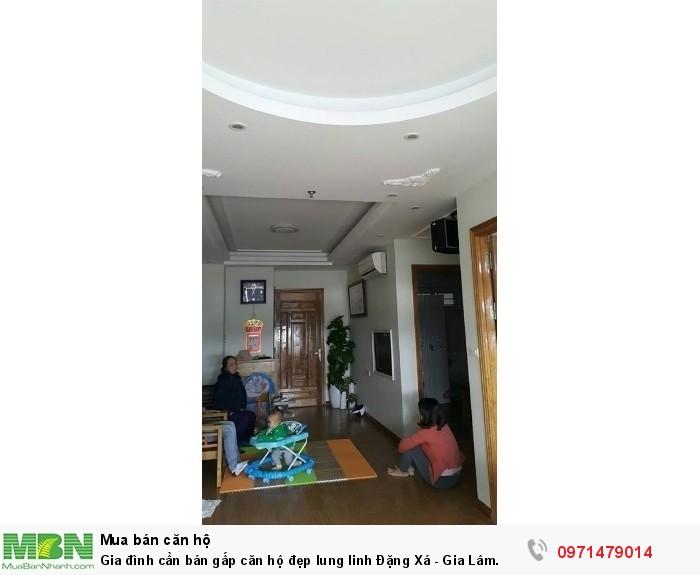 Gia đình cần bán gấp căn hộ đẹp lung linh Đặng Xá - Gia Lâm.